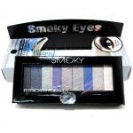 Physicians Formula Shimmer Strips Custom Eye Enhancing Shadow & Liner # Smoky Eyes พาเลทอายแชร์โดว์ 9 สี พร้อมแปรงในตัว แต่งตาในลุคสโมกี้สวยๆ ติดทนนาน