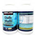 Kirkland Daily Multi Vitamins & Minerals 500 Tablets วิตามินรวมเสริมสร้างสุขภาพ ทานได้ทั้งครอบครัว พิเศษเพิ่มแคลเซียมเข้มข้น ช่วยบำรุงกระดูกและฟัน