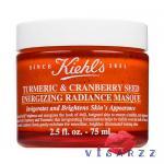 (100mL ลดมากกว่า 30%) Kiehl's Turmeric & Cranberry Seed Energizing Radiance Masque 100mL ส่วนผสมธรรมชาติอย่างแครนเบอร์รี่ +ขมิ้นชัน (Turmeric) เพิ่มความสดใสให้ผิวทันที