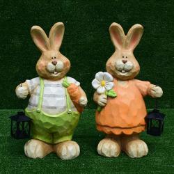 กระต่ายลายไม้+ตะเกียง SALE!!! ซื้อ 1 แถม 1