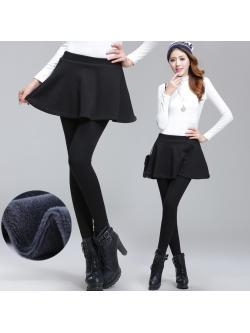 พรีออเดอร์ เลคกิ้งกระโปรง มีทั้งแบบบุขนกำมะหยี่ กันหนาว และแบบไม่บุขน Size S-4XL ผ้า cotton เนื้อดี แบบสวย