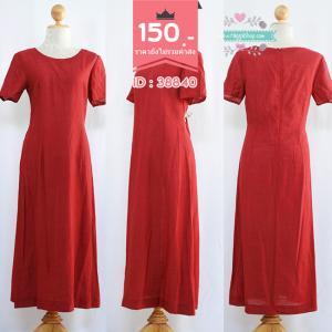 41040 (ID 3364 จองคะ) เดรสสีแดง