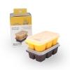 กล่องซิลิโคนสำหรับแช่แข็งอาหารพร้อมฝาปิด Mother's Corn Kitchen Silicone Freezer Cubes