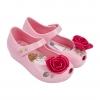 รองเท้าสุดหรูแสนงดงามสำหรับลูกสาว Mini Melissa รุ่น Ultragirl Beauty & the Beast (Rose & Pink)