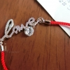 เชือกแดง ด้วยแดง เชือกมงคล รหัส IN่J009