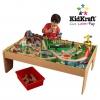 โต๊ะกิจกรรมเอนกประสงค์พร้อมชุดโมเดล KidKraft Waterfall Mountain Train Set & Table