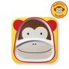 จานอาหารแบ่ง 2 ช่องสำหรับเด็ก Skip Hop รุ่น Zoo Plate (Monkey)