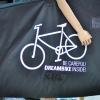 กระเป๋าเดินทางสำหรับใส่จักรยาน (ถอดเฉพาะล้อหน้า) B140 AX