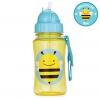 กระติกน้ำชนิดหลอดดูดพร้อมฝาปิด Skip Hop รุ่น Zoo Straw Bottle (Bee)