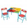 ชุดโต๊ะและเก้าอี้เอนกประสงค์ Delta Children Activity Table and Chairs Set (Sesame Street)