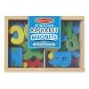 ตัวอักษรแม่เหล็กปลอดสารพิษ Melissa & Doug 52 Wooden Alphabet Magnets