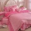 ชุดผ้าปูที่นอนเจ้าหญิง ลูกไม้ SD3009-7P