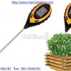 Digital pH meter 4in1 เครื่องวัด pH ในดิน, วัดความเข้มแสง, ความชื้น,อุณหภูมิ