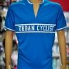 Cycologistz ผ้า Jersey : Urban cyclist-Blue