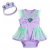 ชุดคอสตูมบอดี้สูทเบบี๋สุดน่ารัก Disney Baby Costume Body Suit (Ariel the Little Mermaid)