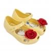รองเท้าสุดหรูแสนงดงามสำหรับลูกสาว Mini Melissa รุ่น Ultragirl Beauty & the Beast (Rose & Yellow)