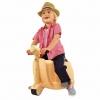 กระเป๋าเดินทางขับขี่ได้สำหรับเด็ก Skoot Children's Ride-On Suitcase (Classic Cream)
