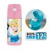 กระติกน้ำสเตนเลสรักษาอุณหภูมิ Thermos FUNtainer Vacuum Insulated Stainless Steel Bottle 12OZ (Disney Princess - Pink)