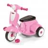 รถจักรยานสามล้อทรงเวสป้า Radio Flyer Classic Lights & Sounds Trike (Pink)