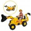 รถตักดินแบบขาถีบสำหรับเด็ก Rolly CAT Construction Pedal Tractor