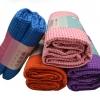 ผ้าโยคะ ปุ่มกันลื่น PVC ลายจุด YK7007P