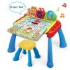 โต๊ะกิจกรรมเสริมพัฒนาการเอนกประสงค์ VTech 3-in-1 Touch and Learn Activity Desk Deluxe
