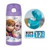 กระติกน้ำสเตนเลสรักษาอุณหภูมิ Thermos FUNtainer Vacuum Insulated Stainless Steel Bottle 12OZ (Frozen Purple)