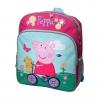 กระเป๋าเป้สะพายหลังสำหรับเด็ก Peppa Pig On Her Bicycle 14 inch Backpack