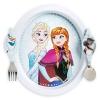 ชุดจานอาหารพร้อมช้อนส้อมสุดน่ารัก Disney Disney Frozen Plate & Flatware Set