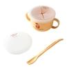 ชุดถ้วยบรรจุอาหารว่างพร้อมช้อนจากข้าวโพดปลอดสารพิษ Mother's Corn Baby 4 Way Snack Cup Set