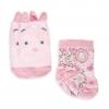 ถุงเท้าเซ็ทคู่สำหรับเบบี๋ตัวน้อย Disney Winnie the Pooh Sock Set for Baby (Piglet)