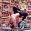 Yoga Wheel วงล้อ สำหรับ โยคะ YK9019P (32*15cm)