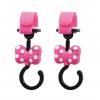 ตะขอแขวนสัมภาระเอนกประสงค์ Napolex 2-Pack Disney Baby Stroller Hook (Minnie Mouse)