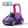 รถขาไถพร้อมหลังคามือจับ Step2 Turbo Coupe Foot-to-Floor (Pink)