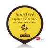Innisfree Capsule Recipe Pack 10mL #Canola Honey ที่มาส์กหน้าชนิดล้างออก ด้วยส่วนผสมของน้ำผึ้งคาโนลา ให้ความชุ่มชื่นอย่างอ่อนโยนและบำรุงผิวให้เปล่งปลั่ง แลดูสุขภาพดี