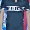 Cycologistz ผ้า Jersey : Urban cyclist-Black