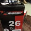 ยางใน X mission Size 26*1.5/1.75 F/V