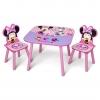 ชุดโต๊ะและเก้าอี้สำหรับเด็ก Delta Children Table & Chairs Set (Minnie Mouse)