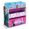 ชั้นเก็บของเล่นสำหรับลูกน้อย Delta Children Multi-Bin Toy Organizer (Disney Frozen)