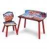 โต๊ะเขียนหนังสือพร้อมเก้าอี้สำหรับเด็ก Delta Children Desk and Chair Set (Cars)