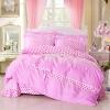 ชุดผ้าปูที่นอนเจ้าหญิง ลูกไม้ SD3020-17P