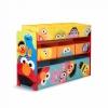 ชั้นเก็บของเล่นสุดน่ารัก Delta Children Deluxe 9 Bin Toy Organizer (Sesame Street)