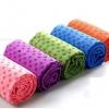 ผ้ารองโยคะ ปุ่มกันลื่น PVC ลายดอกไม้ YK7001P