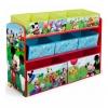 ชั้นเก็บของเล่นสุดน่ารัก Delta Children Deluxe 9 Bin Toy Organizer (Mickey Mouse)