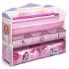 ชั้นวางหนังสือพร้อมกล่องเก็บของเล่นสำหรับลูกน้อย Delta Children Deluxe Book & Toy Organizer (Disney Princess)