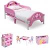 ชุดเฟอร์นิเจอร์ห้องนอนสำหรับลูกน้อย Delta Children Room-in-a-Box (Disney Princess)