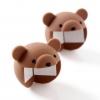 ยางกันกระแทกขอบมุมโต๊ะหมีน้อย Flaner Animal Corner Cushion - Kuma