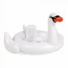 ห่วงยางว่ายน้ำสำหรับเด็ก Pool Float Inflatable Baby White Swan Swimming Ring