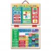 แผ่นกระดานแม่เหล็กปฏิทินกิจกรรมรายวัน Melissa & Doug My Magnetic Daily Calendar