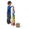 ชุดกล่องกิจกรรมเรียงตั้งสุดน่ารัก Melissa & Doug Nesting & Stacking Blocks (Number, Shapes & Colors)